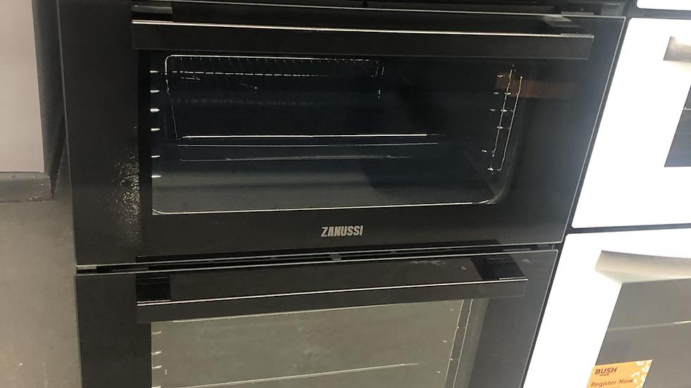 (968) Zanussi ZOD35802BK Built In Multifunction Double Oven – BLACK