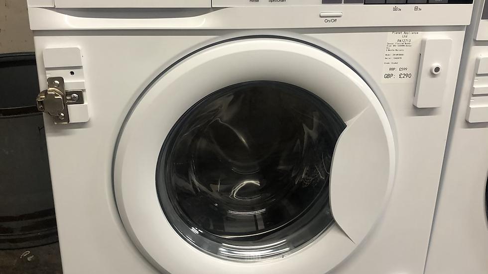 (038) Zanussi Z816WT85BI Integrated 8Kg / 4Kg Washer Dryer with 1600 rpm - White