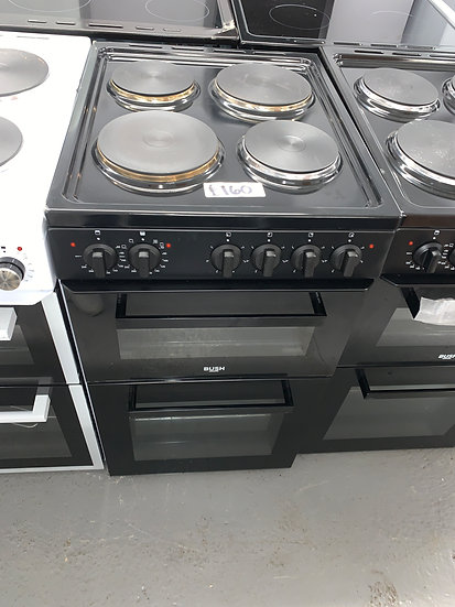 Bush BETAW50B 50cm Twin Cavity Electric Cooker - Black *GRADED*