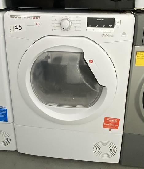 Hoover DNCD813B-80 DNC D813B 8kg Condenser Tumble Dryer White *GRADED*