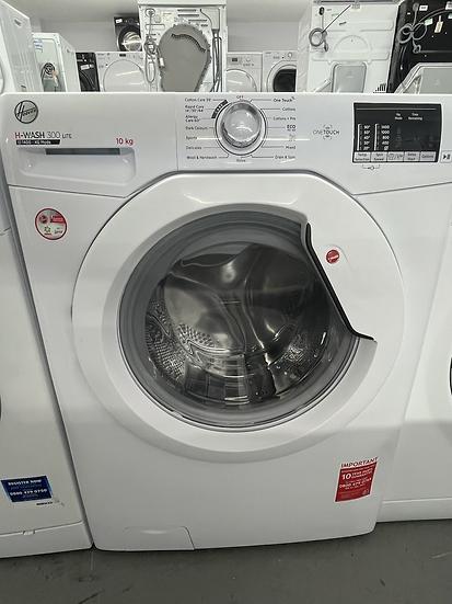 (168) Hoover H-WASH 300 H3W4102DE 10Kg Washing Machine with 1400 rpm - White