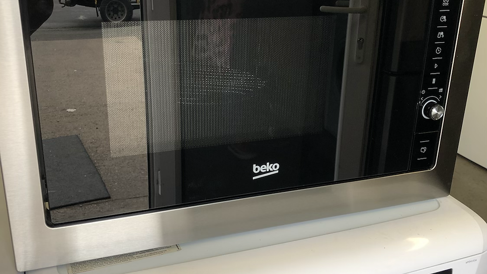 (938) Beko MGB25332BG Built In Microwave With Grill - Black / Stainless Steel
