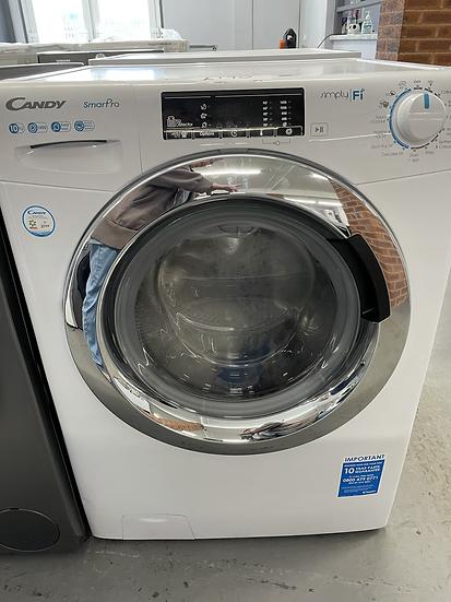 (490) Candy CSC10LF 10KG Sensor Dry Condenser Tumble Dryer - White