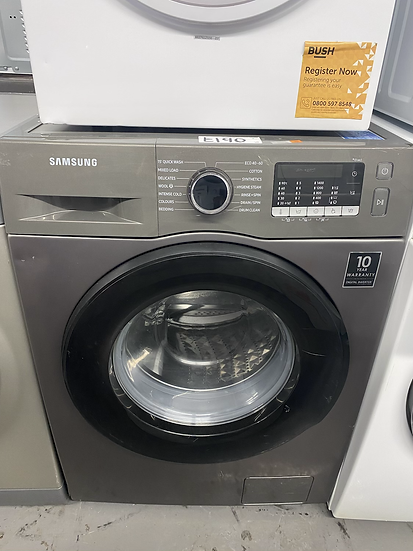 (10) Samsung WW90TA046AX ecobubble Washing Machine, 9kg Load,