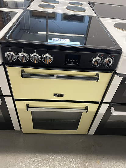 (6)New World Nevis NWNV60CC 60cm Electric Cooker - Cream