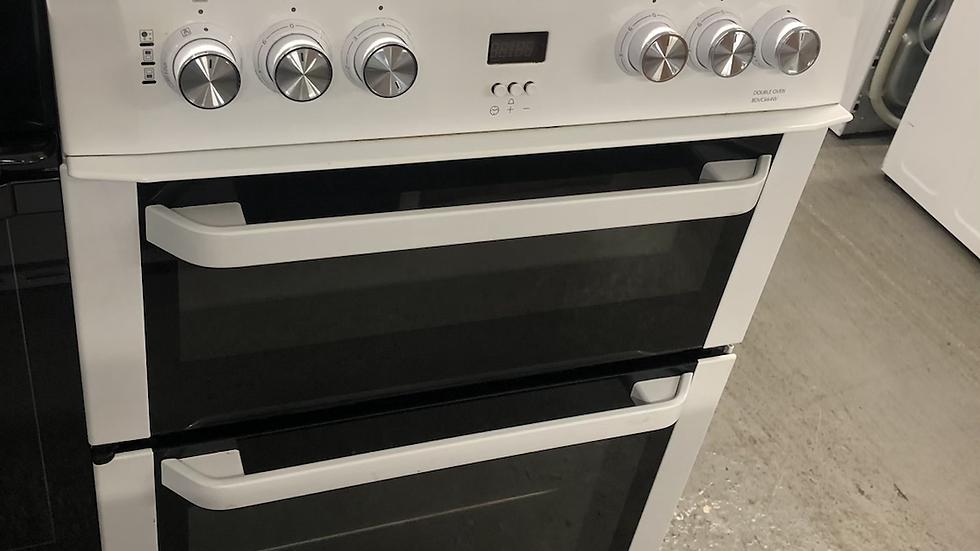(142) Beko 60cm Electric Cooker - BDVC664W