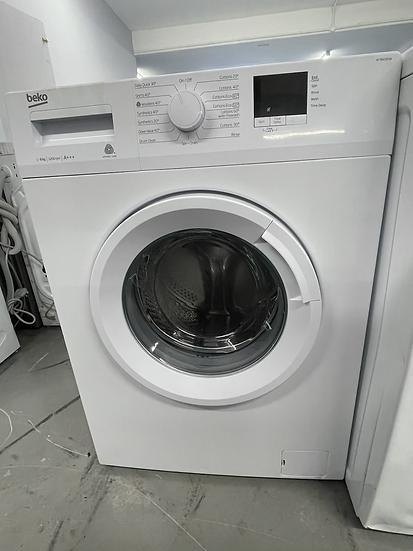 (164) BEKO WTB820E1W 8 kg 1200 Spin Washing Machine - White