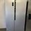 Thumbnail: (377) LOGIK LSBSX20 American-Style Fridge Freezer - Inox