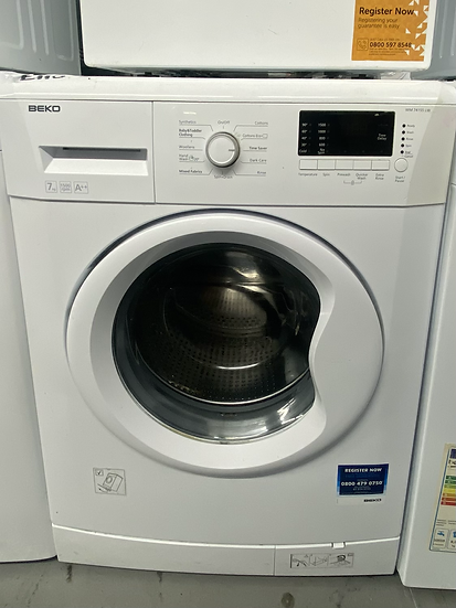 Beko WM74155L Freestanding 7kg 1500rpm Washing Machine