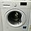 Thumbnail: Beko WM74155L Freestanding 7kg 1500rpm Washing Machine