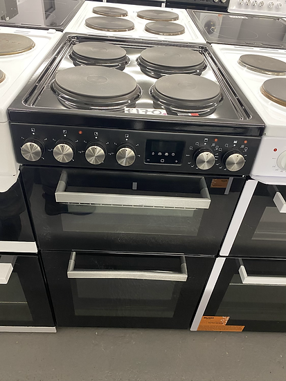 (24)New World NWLS50DEB 50cm Double Electric Cooker - Black