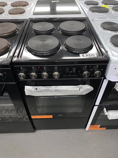 New World NWLS50SEB 50cm Single Oven Electric Cooker - Black *GRADED*