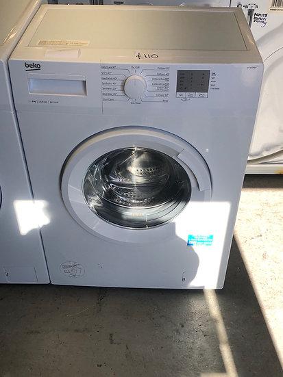 (172) Beko 6KG Washing Machine [WTG620M1W]