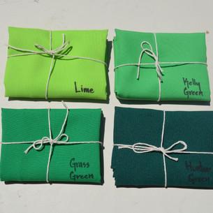 Bright Green Palette
