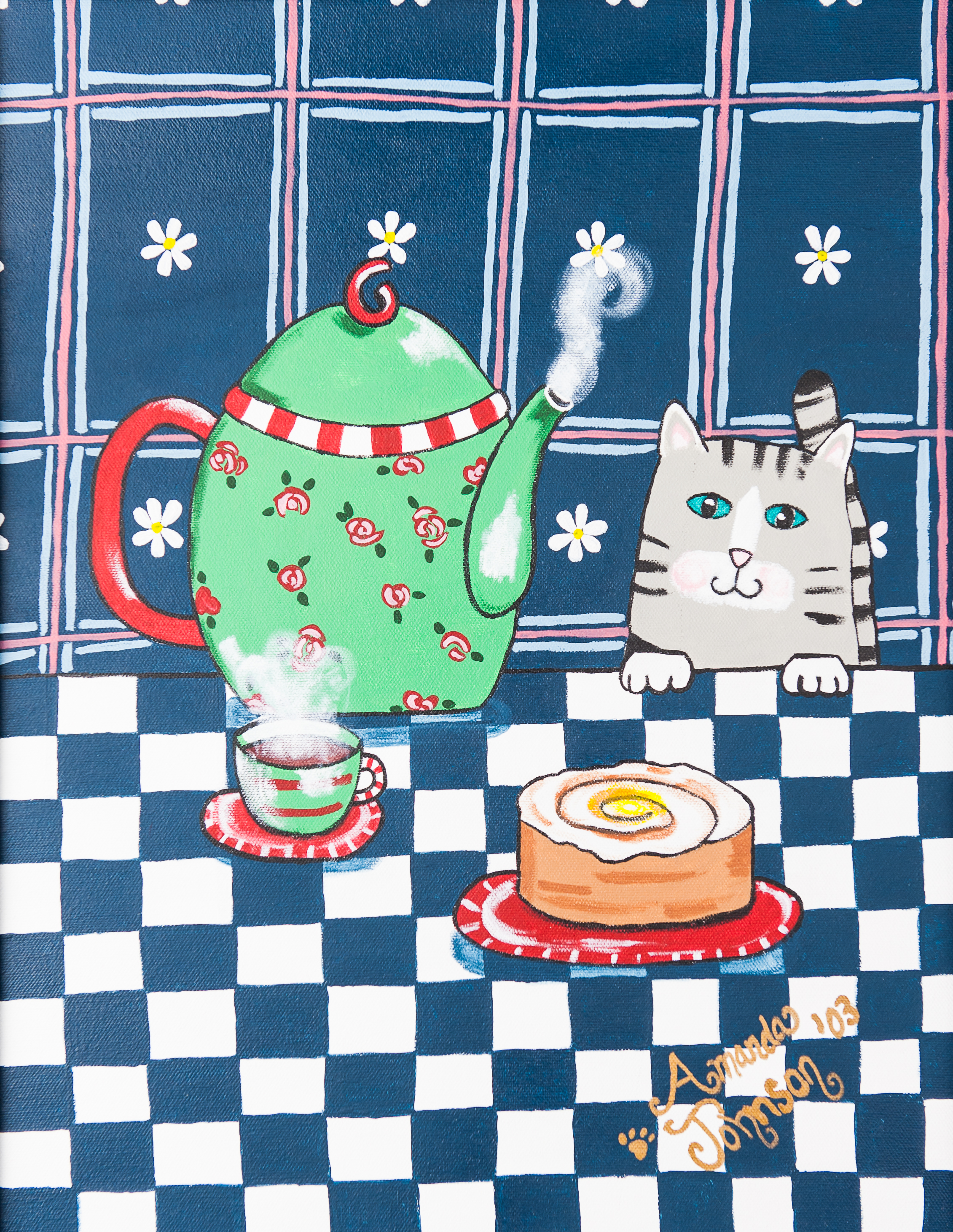 Kitty Cat Tea Time