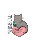 Wecome to the Whimsical World of Amada. Fine arts and crafts in the whimsical and folk art styles.