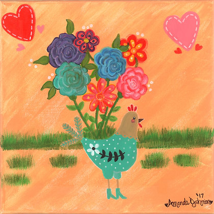 Henrietta the High Heeled Hen