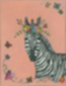 I Feel Pretty 2019 - Whimsical Zebra