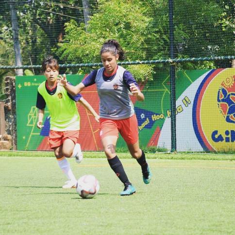 Gokulam Kerala FC Women's Team Training @ Ginga