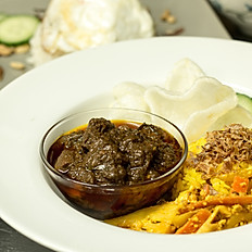 Beef Rendang (DF)  (Mild, Medium or Hot)
