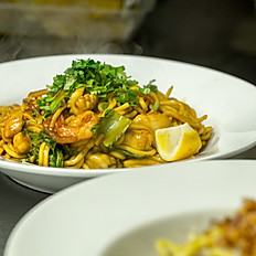 Mee Goreng (Vegetarian Or Vegan Optional, DF)(Mild, Medium or Hot)