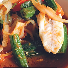 Assam Fish (DF) (Mild, Medium or Hot)