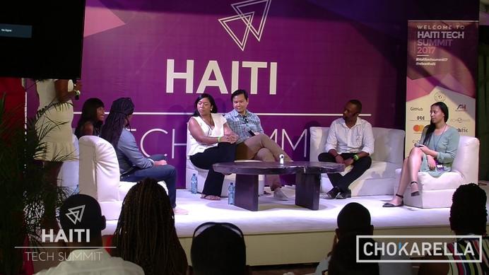 Panelist for Haiti Tech Summit (Haiti)