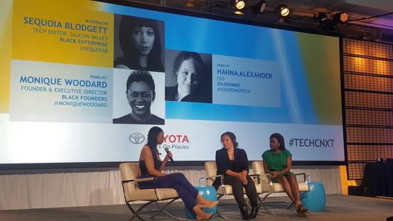 Moderator for SheTechs: Women Techpreneurs Share Their Funding and Launching Secrets