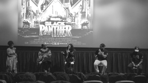 Panelist - Black Panther Screening