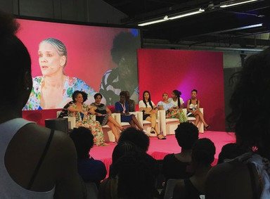 Panelist for Natural Hair Conference (Paris, France)