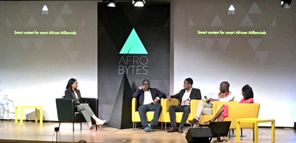 Moderator for Afrobytes, Smart Content for Smart Millennials (Paris, France)