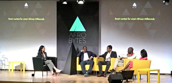 Moderator for Afrobytes, Smart Content for Smart Millennials (Paris, France)