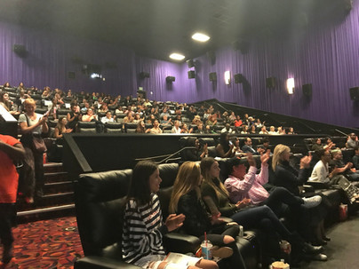 Audience at Step Documentary Screening with Cast - Fox Searchlight (San Francisco, CA)