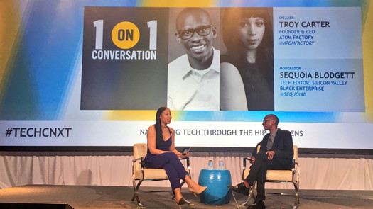 1-on-1 Interview with Troy Carter, Black Enterprise, TechConnext