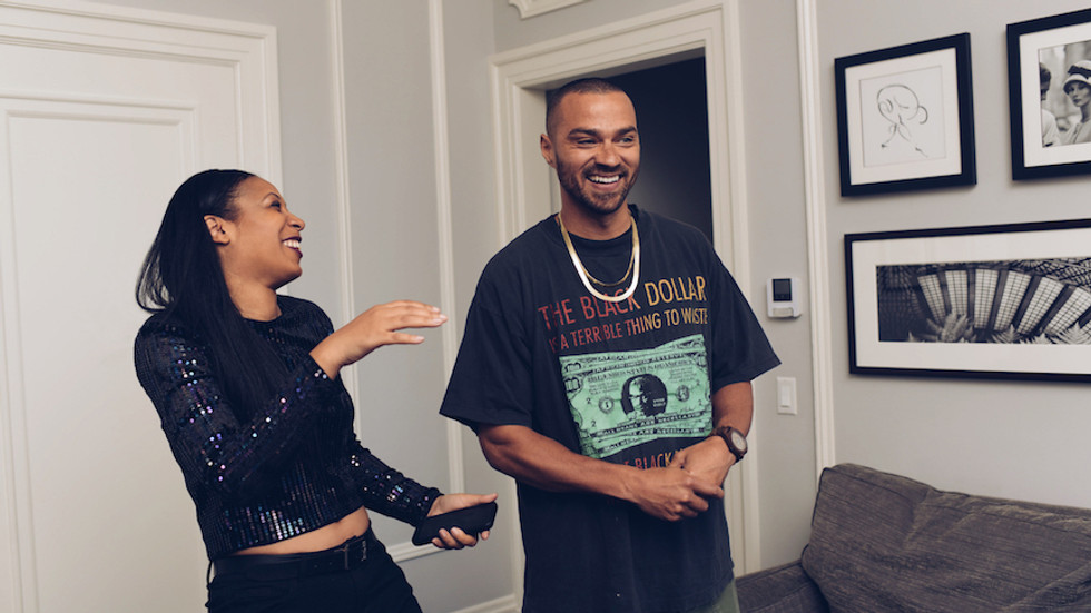 Jesse Williams and I Play Blebrity, the Blackest App Trivia Game Out There