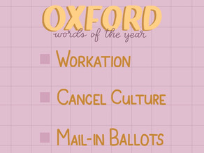 Oxford Word of the Year