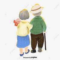 pngtree-a-couple-of-old-people-walking-h