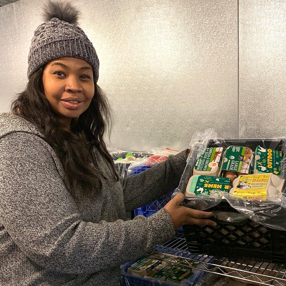 Helen Jones in Food Rescue