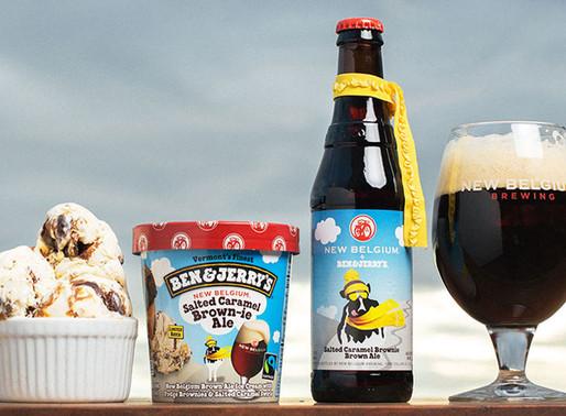 Ben & Jerry's and  New Belgium Craft Beer Ice Cream