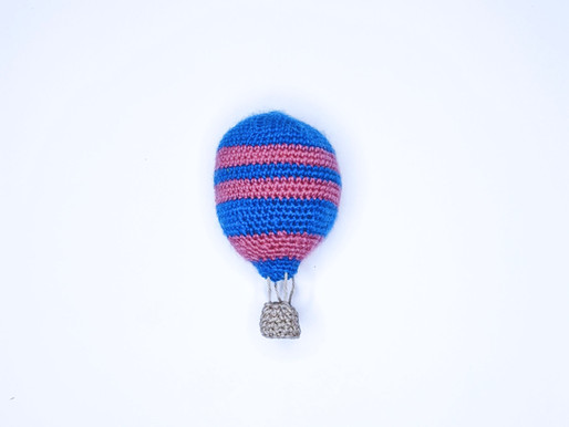 Stories and Stitches - The World Needs Who You Were Made to Be - Hot Air Balloon Amigurumi