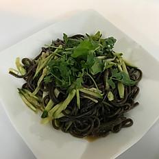涼拌蕨根粉 (素): Chilled Fern Root Noodle (Vegetarian)