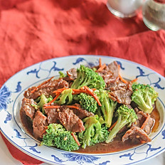 西蘭花牛肉: Broccoli Beef