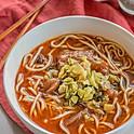 牛筋湯麵: Beef Tendon Soup Noodle