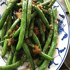 乾扁四季豆: Garlic String Bean