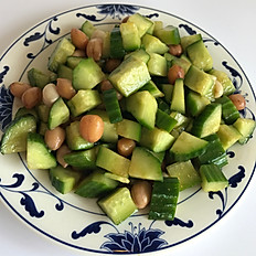 花生黃瓜: Boiled Peanut with Cucumber