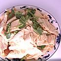 香菜拌腐竹: Bean Stick Salad with Cilantro