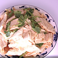 香菜拌腐竹: Bean Stick Salad with Cilantro