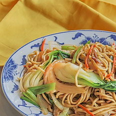 炒麵 (可選雞,牛,或蔬菜): Chowmein (Choose Chicken, Beef or Vegetable)
