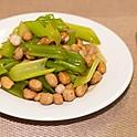 西芹花生: Boiled Peanut with Celery