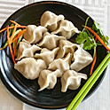 白菜豬肉水餃: Pork Dumpling w/ Napa Cabbage